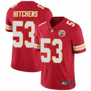 Chiefs Anthony Hitchens Red Jersey